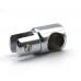 Соединитель труба-стекло для штанги Ø19 мм, торцевой.