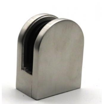 Стеклодержатель литой для стекла 8-10 мм, под плоскость.