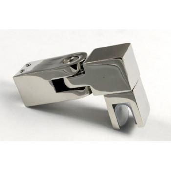 Соединитель труба-стекло регулируемый для штанги 19*19 мм