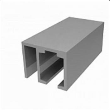 Трек алюминиевый с держателем неподвижной панели для система Лаура