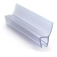 ПВХ уплотнитель для стекла душевых кабин, 10 мм.