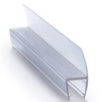 ПВХ уплотнитель для стекла душевых кабин, 6 мм.