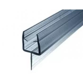 Профиль уплотнительный,чёрный, стекло 8 мм 2.2 метра