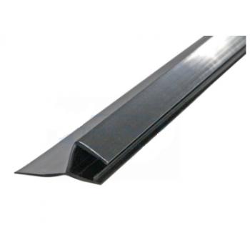 Профиль уплотнительный, чёрный, стекло 8 мм 2,2 м