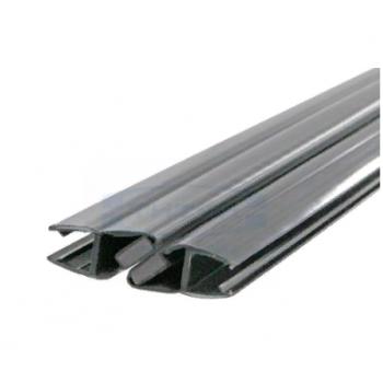 Профиль магнитный стекло 8 мм 2,2 м, 90,180,165 гр. BLACK