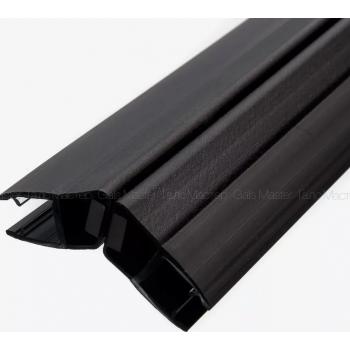 Профиль магнитный, чёрный, стекло 8 мм 2.2 метра 135 гр