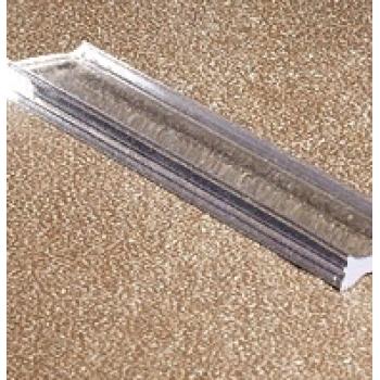 Профиль проставка стекло 8мм длина 3 м