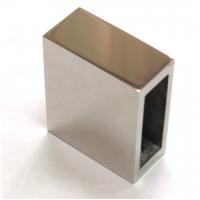 Соединители вертикальные для штанги 10*30 мм, нержавеющая сталь AISI 304