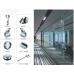 Раздвижная система для душевых кабин и стеклянных перегородок