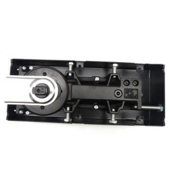 Доводчик напольный скрытый 90 кг . Угол открывания и фиксации под 90° и 116°