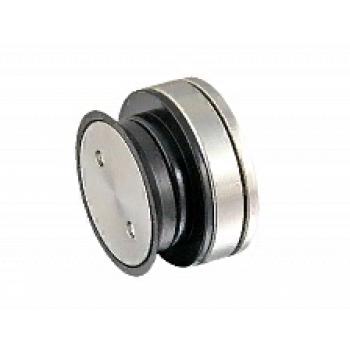 Точечное крепление стена-стекло, регулируемое 10,5-12,5 mm (h21.5 мм), под зенковку