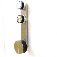 Система «Вектор» для стеклянных раздвижных дверей