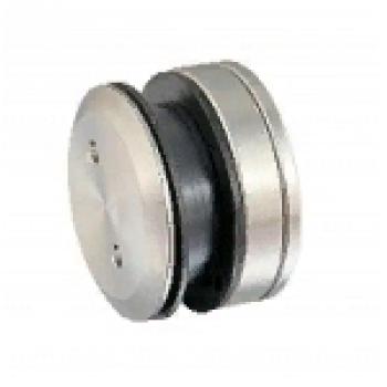 Точечное крепление стена-стекло, регулируемое под зенковку 10,5-12,5 mm (h19.5 мм)