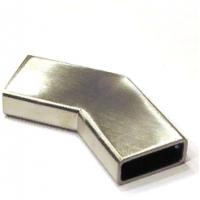 Соединители горизонтальные для штанги 10*30 мм, нержавеющая сталь AISI 304