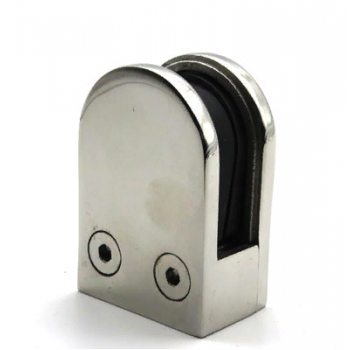 Стеклодержатель литой 45*63, для стекла 10-12 мм, под плоскость.