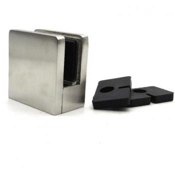 Стеклодержатель квадратный литой 45*45, для стекла 10-12 мм, под плоскость.