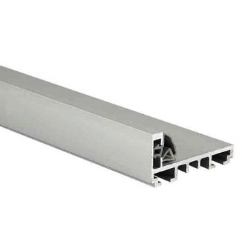 Комплект AL (L-обр.) дверной коробки с уплотнителем и уголками, L= 6000mm