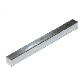 Профиль для крепления магнита к стене алюминиевый,  8-10 мм, длина 2 200 мм