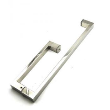 Ручка-скоба двухсторонняя для стеклянной двери
