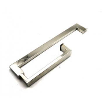 Ручка-скоба двухсторонняя для стеклянной двери 235*420